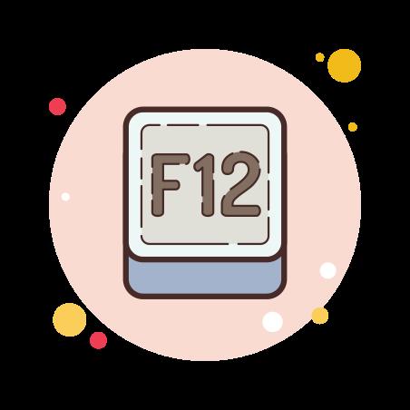 F12 Key icon