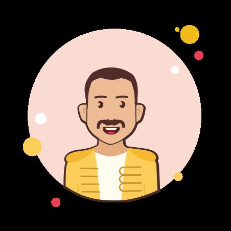 Freddie Mercury icon