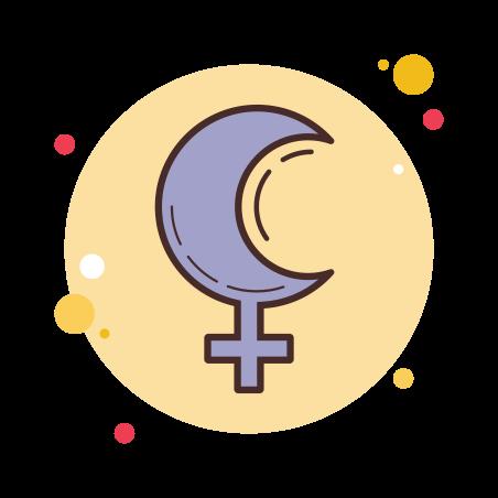 Lilith Symbol icon