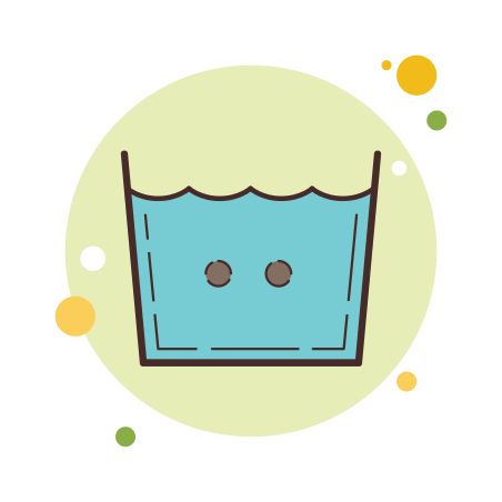 Machine Wash Warm icon