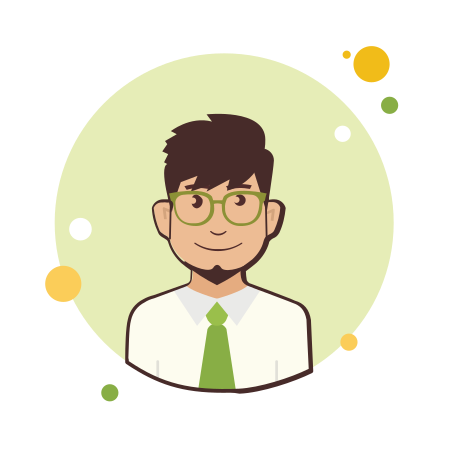 Man in Green Tie icon