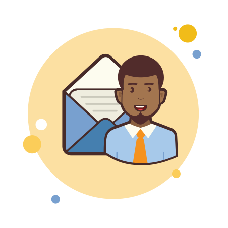 Man With Mail icon