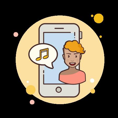 Phone Music icon