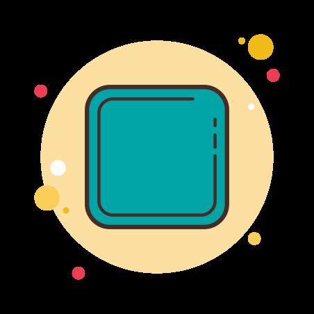 Cuadrado redondeado icon