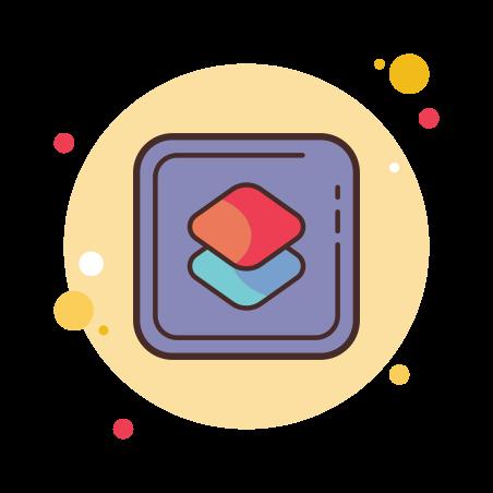 Shortcuts icon in Circle Bubbles