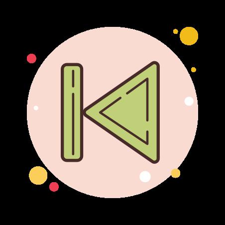 Skip to Start icon
