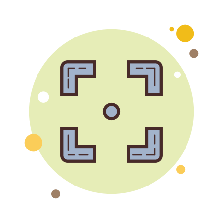 Borde cuadrado icon