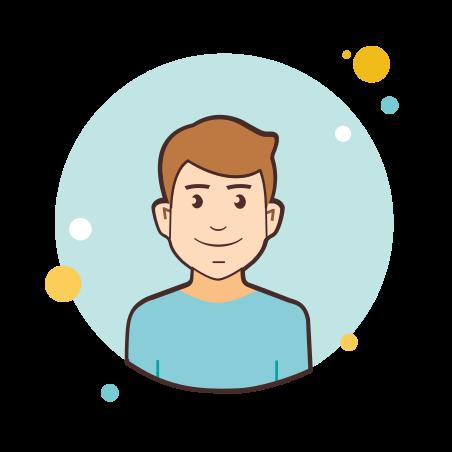 User icon in Circle Bubbles