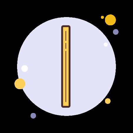 Linea vertical icon