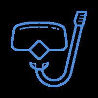 mask snorkel icon