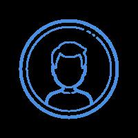 user male-circle icon