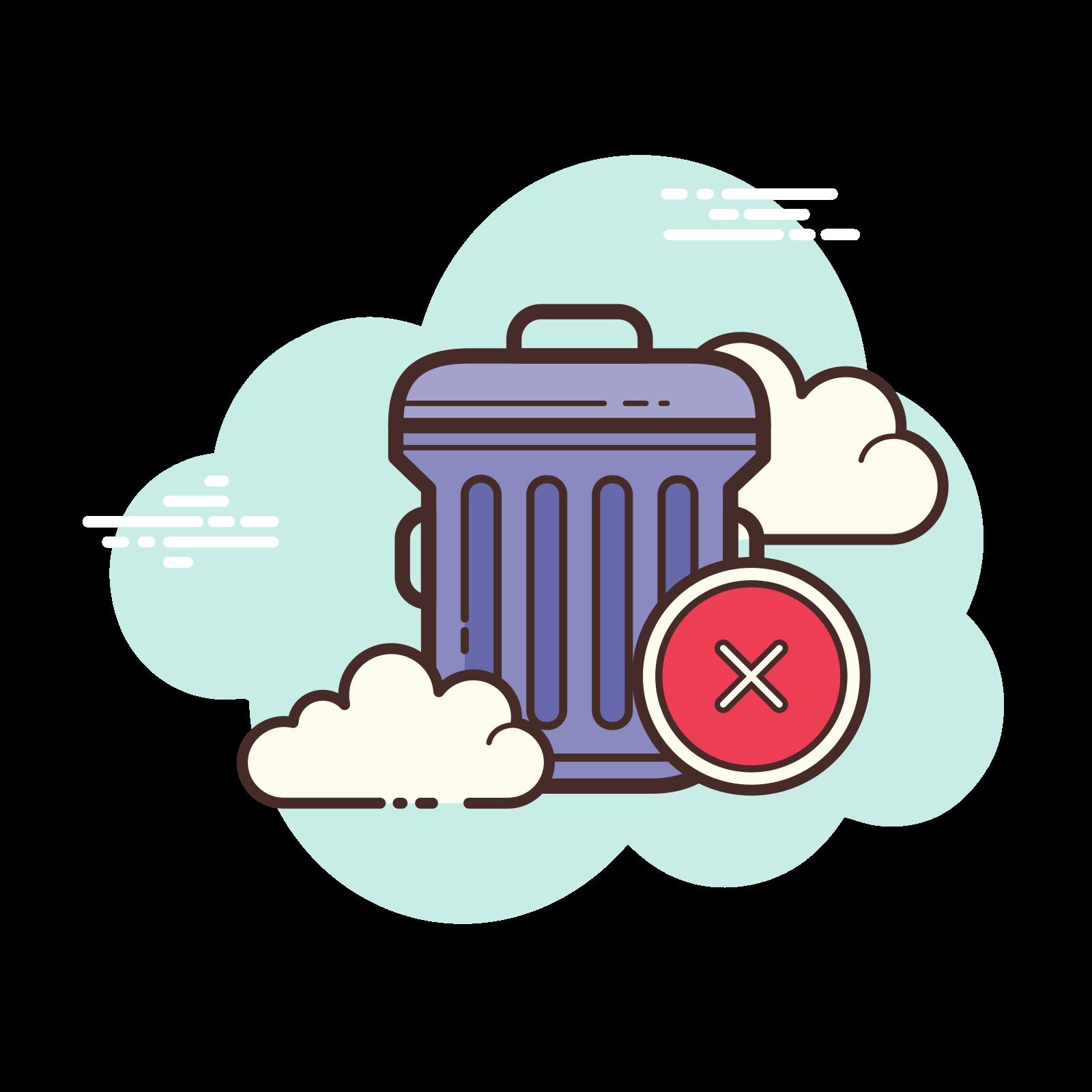 Delete Trash icon
