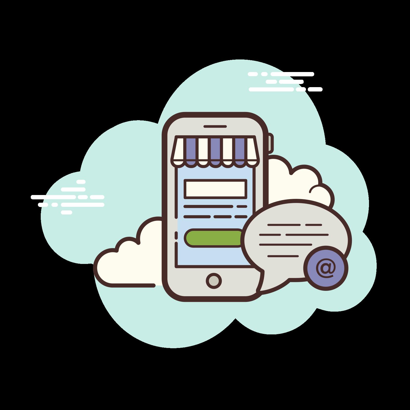 Mobile Shop Addres icon