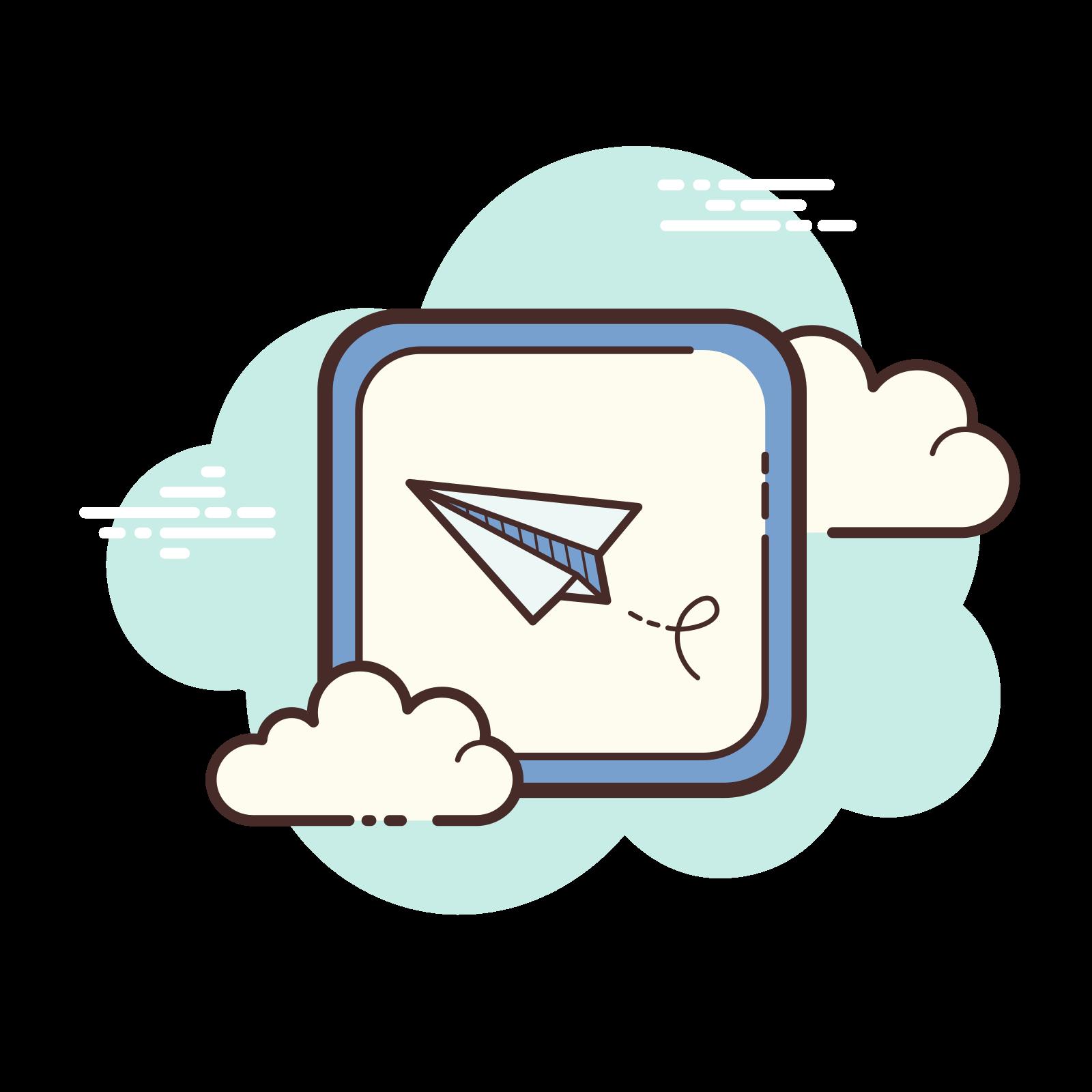 Paper Plane Message icon