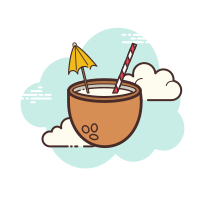 Kokosnuss-Cocktail icon