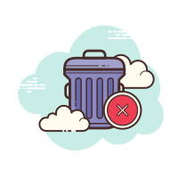 Delete Trash icon