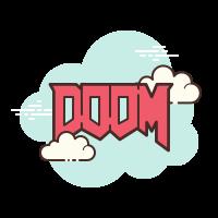Doom Logo icon