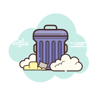 Disposal icon