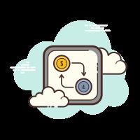Cambio de dinero Lightcoin icon