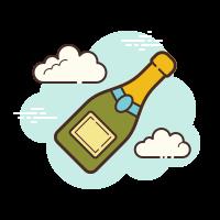 champagne bottle icon