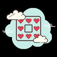 Heart Border icon
