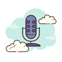 Microphone Outline icon