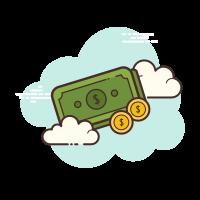 Dólar de dinero icon