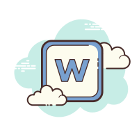 Microsoft Word Icon - Free Download, PNG and Vector