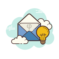 Idea Open Envelope icon