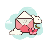 Envelope Aberto Amor icon