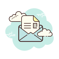 Open Envelope icon