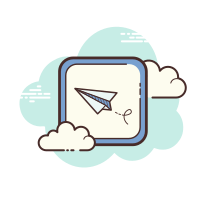Paper Plane Message icon