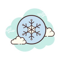 Snowflake Outline icon