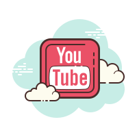 Youtube quadratisch icon