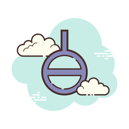 Agender Symbol icon in Cloud