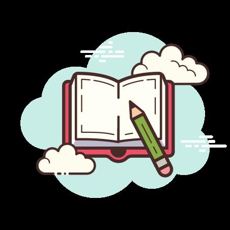 Book And Pencil icon