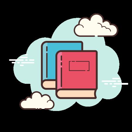 Books icon in Cloud