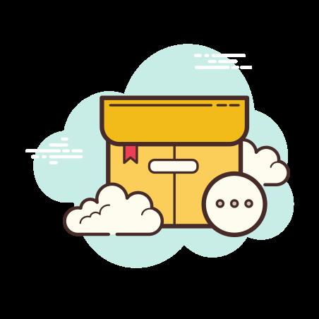상자 기타 icon in Cloud
