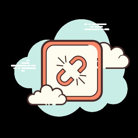 Broken Link icon in Cloud