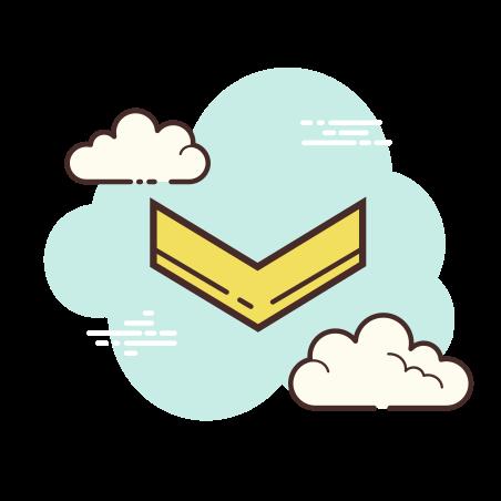 Chevron Down icon in Cloud