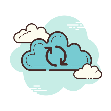 Cloud Sync icon in Cloud