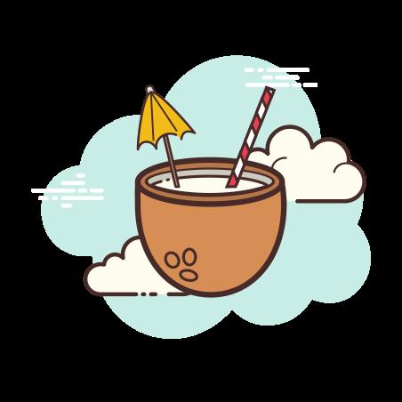 코코넛 칵테일 icon
