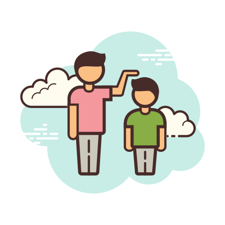 Compare Heights icon in Cloud