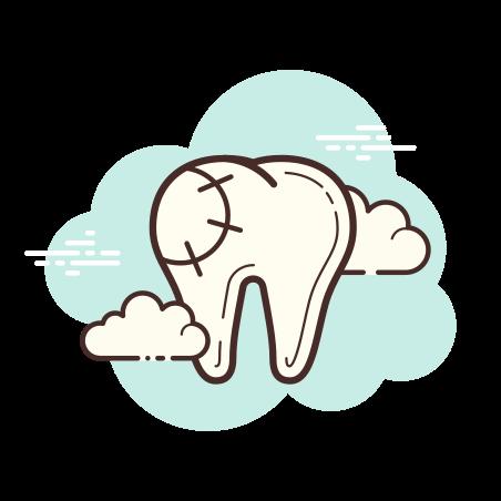 Dental Filling icon in Cloud