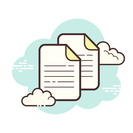 Documents icon in Cloud