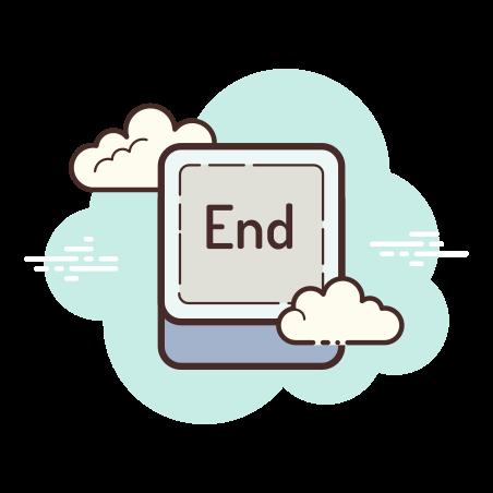 End Button icon