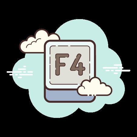 F4 Key icon