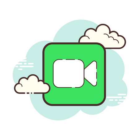 FaceTime icon in Cloud