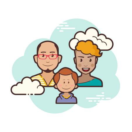 Family icon in Cloud