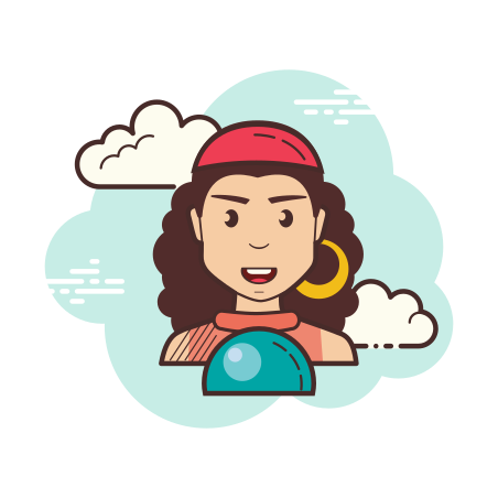 Fortune Teller icon in Cloud